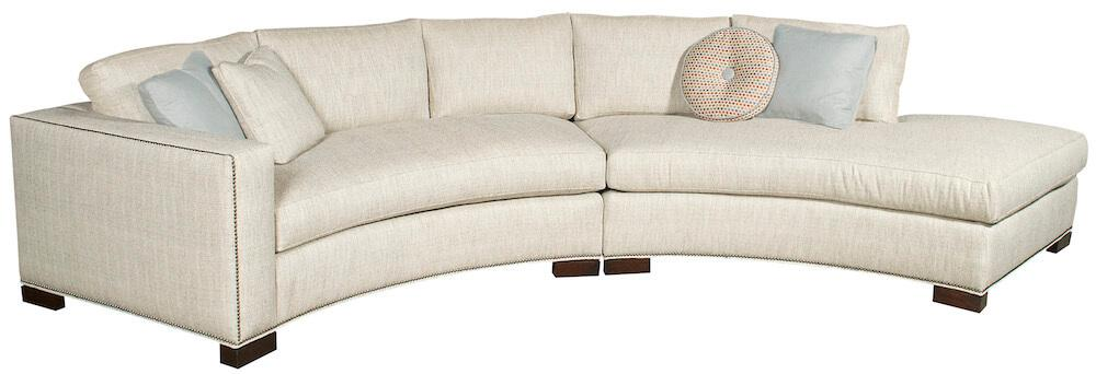 Vanguard Bennett Sectional Curved Sofa