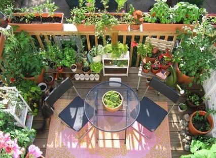 Balcony decks Garden